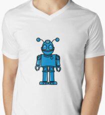 Funny cool robot toy fun Men's V-Neck T-Shirt