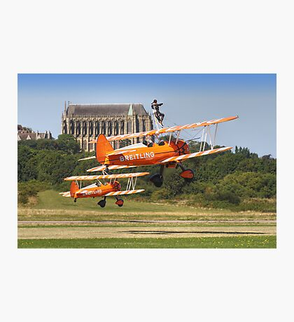 Wingwalkers - Shoreham - 2013 Photographic Print
