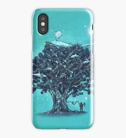 Deep Tree Diving  iPhone Case