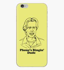 Phone's Ringin' Dude iPhone Case