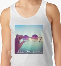 See The Beauty Men's Tank Top