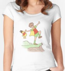 Robin Women's Fitted Scoop T-Shirt