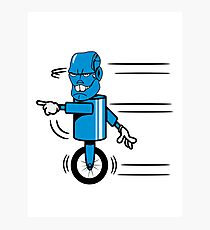 Robot monster funny cool fast funny comic Photographic Print