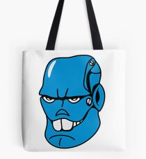 Robot monster cool comic face Tote Bag