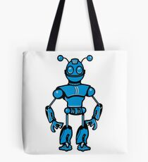 Cool funny robot toy fun Tote Bag