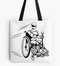 Cool funny robot wheelchair funny Tote Bag