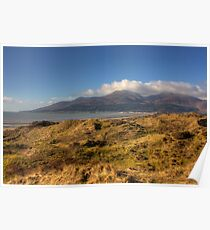 The Mourne Mountains from Murlough NNR/ASSI Poster