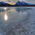 Tiny Bubbles of frozen methane by James Anderson