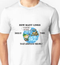 How many Links? Unisex T-Shirt
