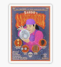 Sardo's Magic Mansion! Sticker