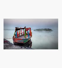 Colours in the mist Photographic Print