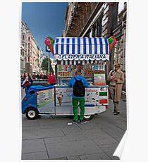 Gelateria Italiana Poster