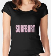 Surfbort Women's Fitted Scoop T-Shirt