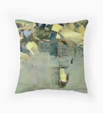 Sunny day in Siberia Throw Pillow