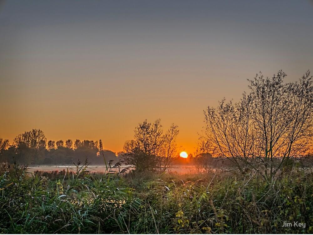 Sunset Olney Meadow by Jim Key