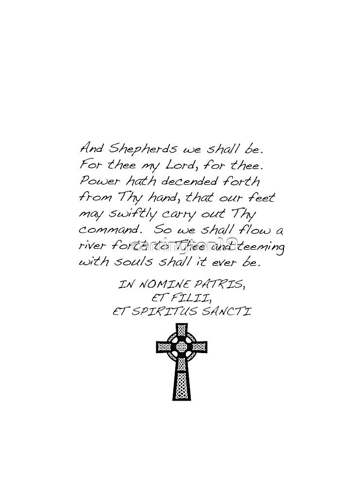 Saints Prayer by carrington19