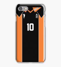Karasuno High #10 iPhone Case/Skin
