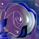 Purple and blue by IrisGelbart