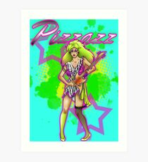 Pizzazz from the Misfits Art Print