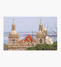 Monastery view from São Jorge Castle Photographic Print