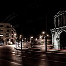 Hadrian's Arch by Apostolos Mantzouranis