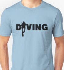 Diving Unisex T-Shirt