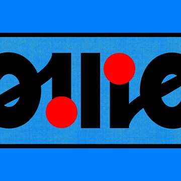 Ollie ambigram by black-ink