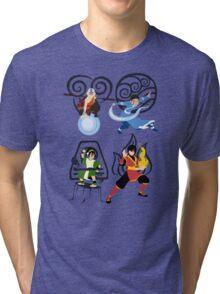 Minimalist Bending  Tri-blend T-Shirt