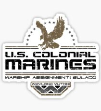 Colonial Marines Sticker