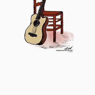 Guitar and Chair by Peter Miller by petermiller