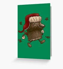 Logstache Greeting Card