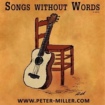 Guitar and Chair Album Cover by Peter Miller by petermiller