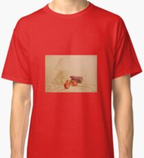 Still life with lamp and apples Classic T-Shirt