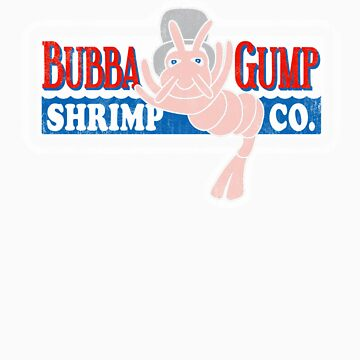 Bubba Gump by 8balltshirts