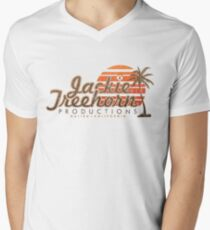 Jackie Treehorn Productions Men's V-Neck T-Shirt