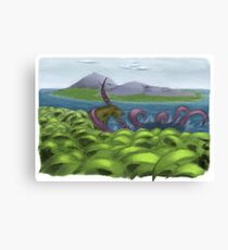 Amazing Paleontology Canvas Print
