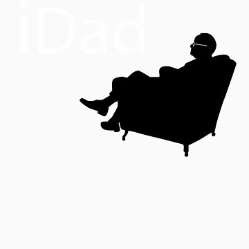 iDad - Think Dad by 8balltshirts