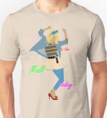 Camiseta ajustada Vamos al centro comercial ! :RE