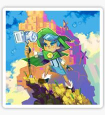 The Archives of Wyndia: Into the Cloudline Original Soundtrack Cover Art Sticker