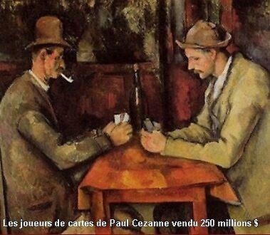 Les joueurs de cartes by belgouche