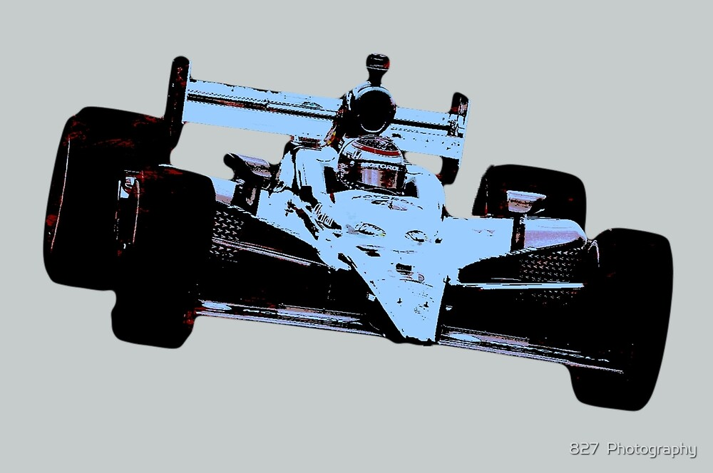 indy car blue by 827  Photography
