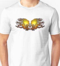 Skull Banners T Shirt Design  Unisex T-Shirt