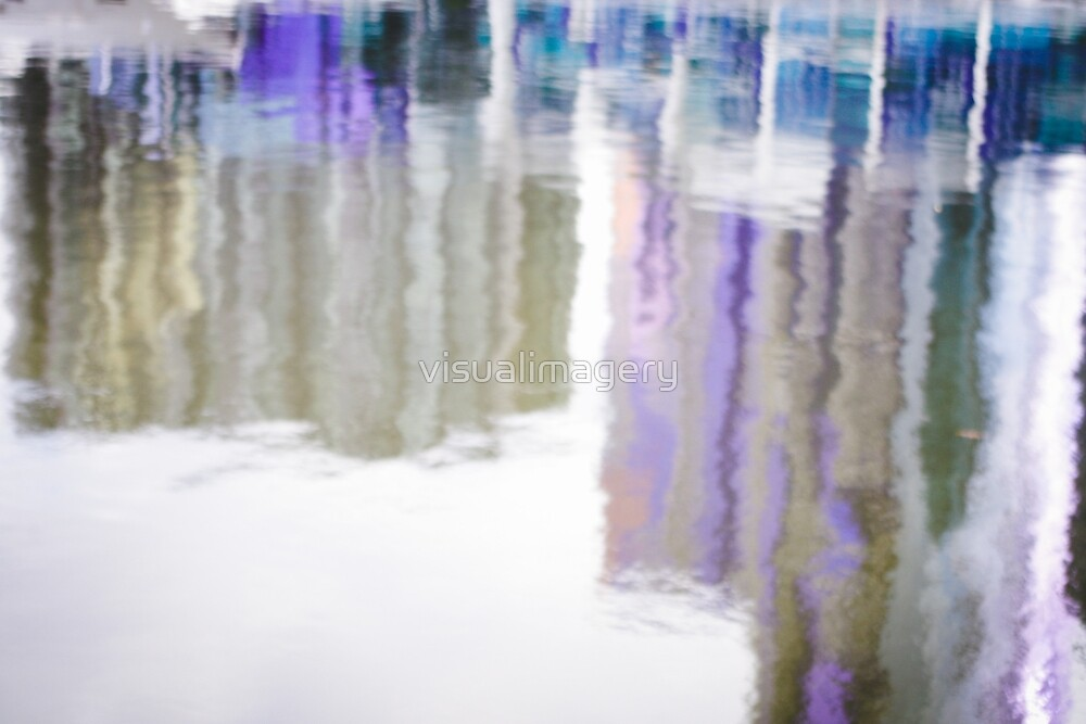 Reflections abstract by visualimagery