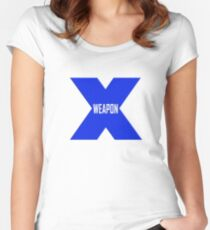 Weapon X Women's Fitted Scoop T-Shirt