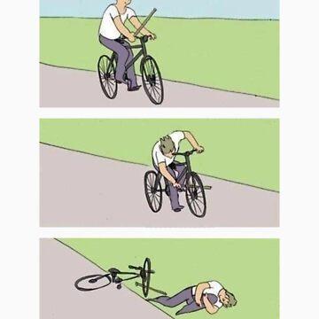 Bike Fail by mkcvte
