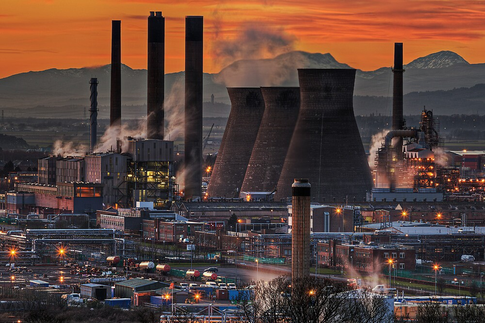 Grangemouth Refinery (3) by Karl Williams