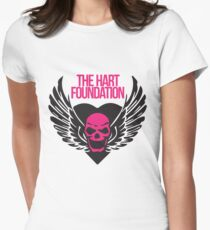 The Hart Foundation Women's Fitted T-Shirt