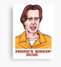 Phone's Ringin' Dude (Color) Canvas Print