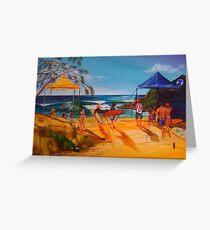 2014 Longboard Comp Agnes Water Greeting Card
