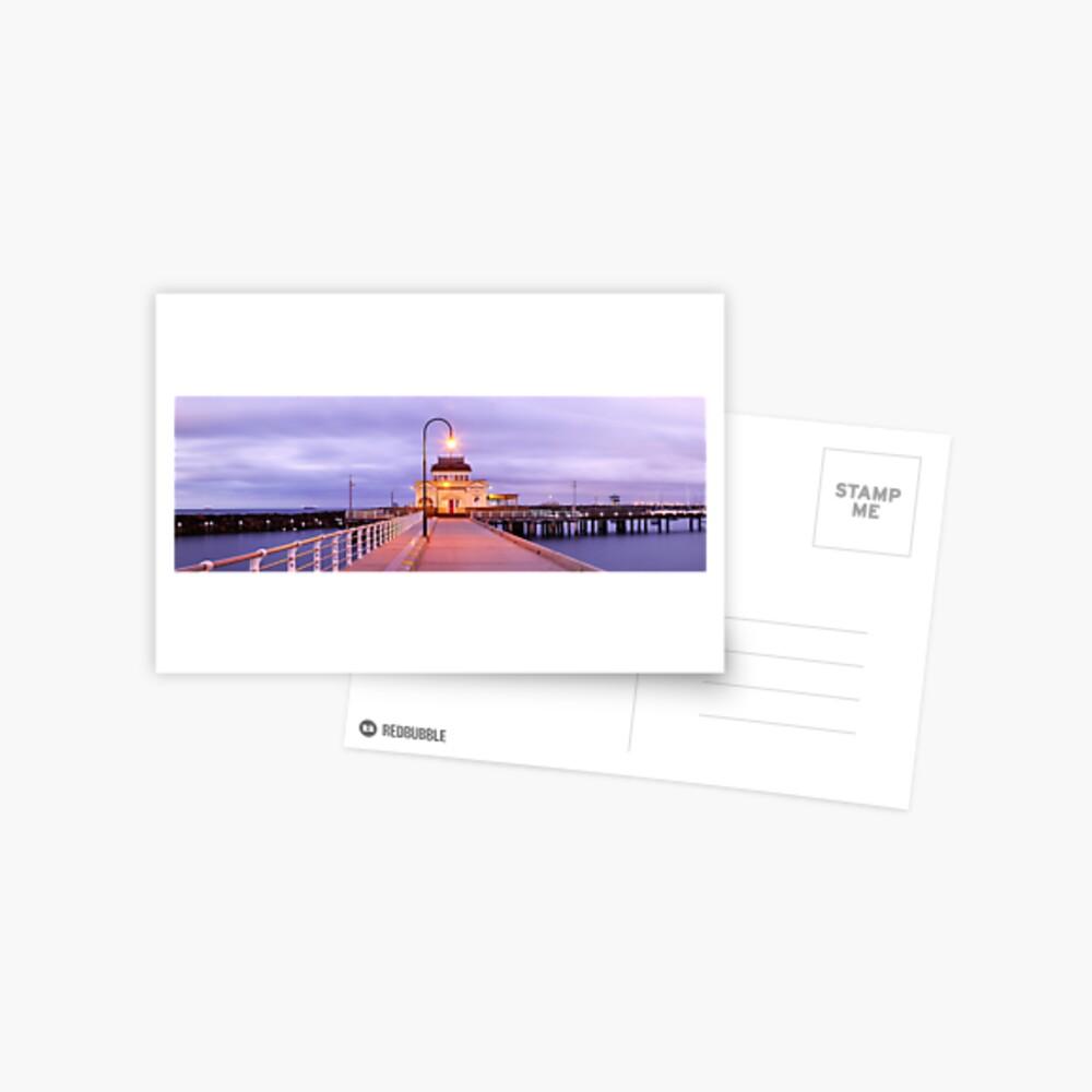 St. Kilda Pier, Melbourne, Victoria, Australia Postcard
